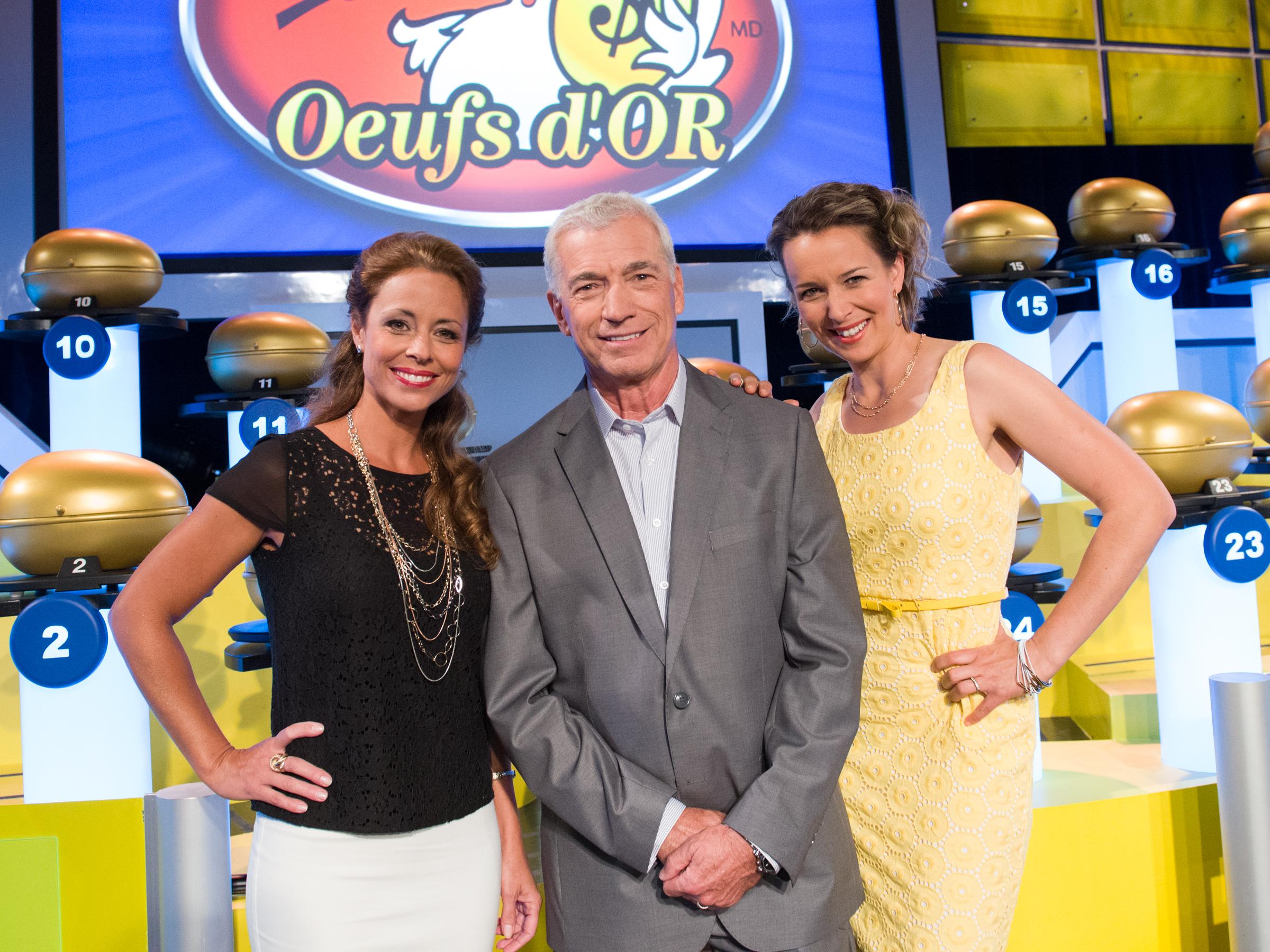 Julie, Guy et Claudia 2014