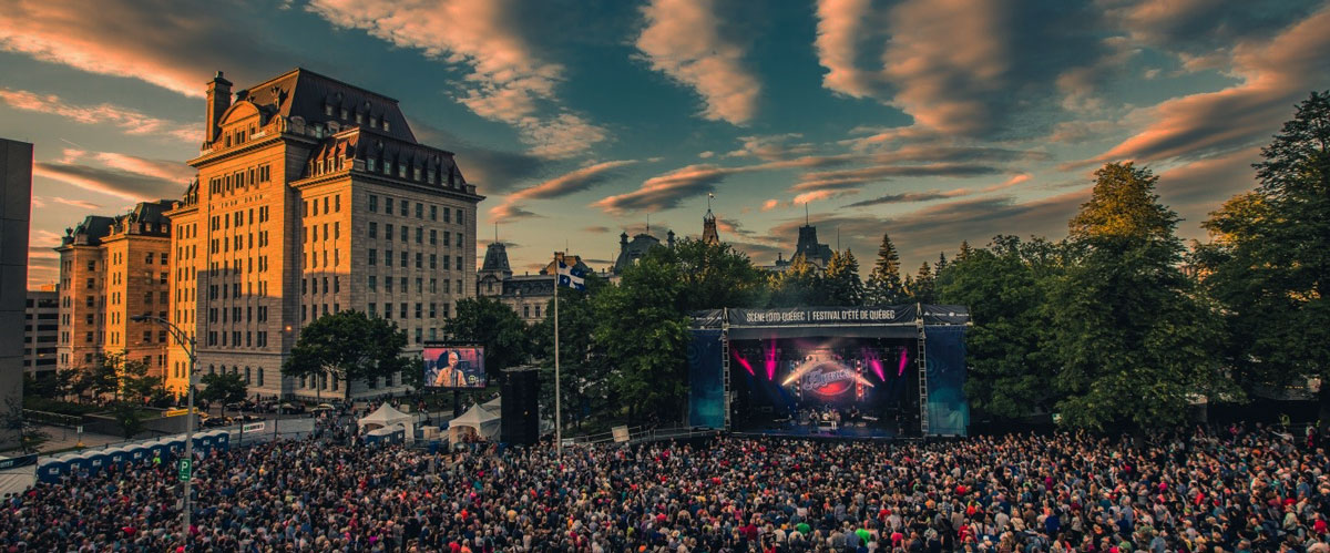 Festival d'été de Québec. Photo: André-Olivier Lyra