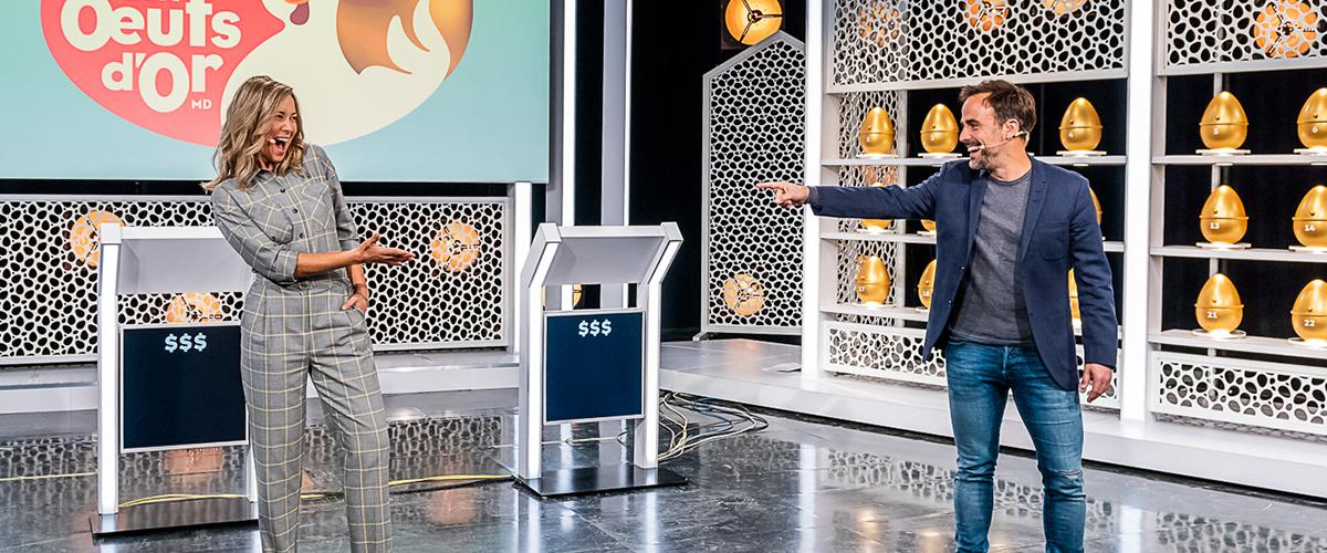 Julie et Sébastien ont hâte de se retrouver à la barre de l'émission.