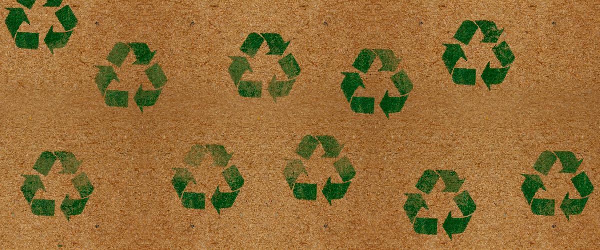 Bannière recyclage pour la loterie Évasion